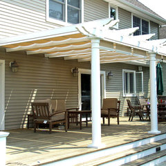 traditional porch by ShadeTree Canopies