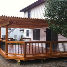 Traditional Porch by Autumnwood Construction Inc.