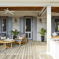Contemporary Porch by Diament Builders