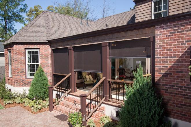 Traditional Porch by Phantom Screens