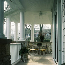Traditional Porch by FWC Architects, Inc.