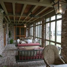 Traditional Porch by Shapiro & Company Architects
