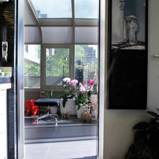 Contemporary Porch by Esther Hershcovich