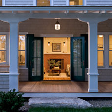 Beach Style Porch by Whitten Architects
