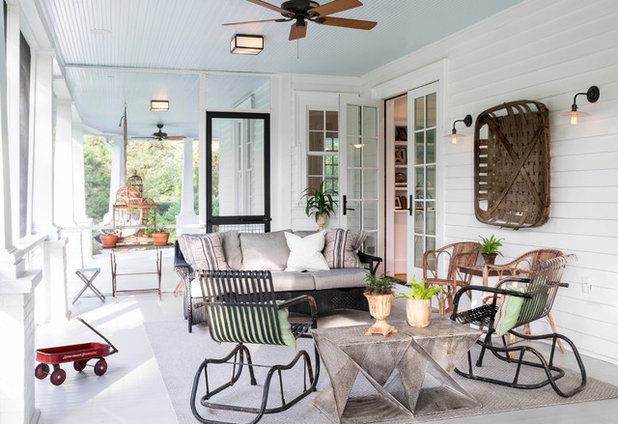 Farmhouse Porch by Alys Design