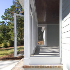 Transitional Porch by plantation building corp