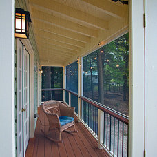 Traditional Porch by Bonin Architects &  Associates
