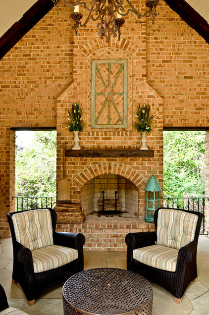 Traditional Porch by Pam Adams