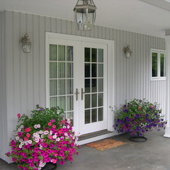 traditional porch by Maughan Design & Remodel