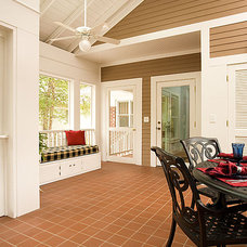 Traditional Porch by Renewal Design-Build