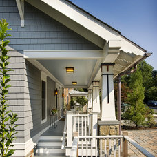 Traditional Porch by Bennett Frank McCarthy Architects, Inc.