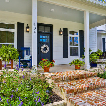 Porch - Boerne Traditional Modern Home