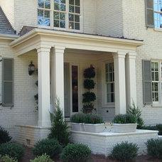 Traditional Porch by Worthington Millwork, LLC