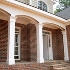 Newhall Addition Traditional Porch Dc Metro By