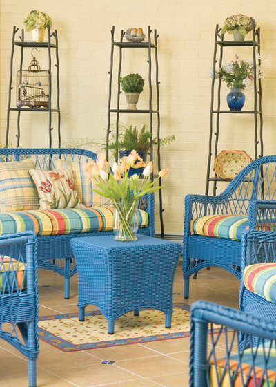 Eclectic Porch by Designing Solutions