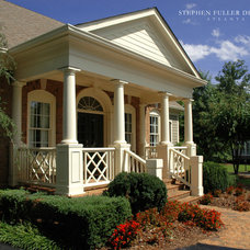 Traditional Porch by Stephen Fuller Designs