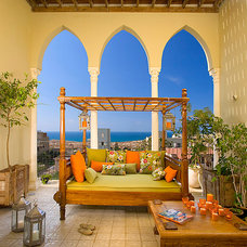 Mediterranean Porch by Elad Gonen