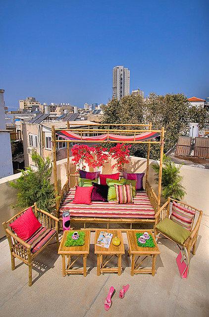 Eclectic Porch by Elad Gonen