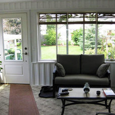 Contemporary Porch by Howard Quality Window Inc.