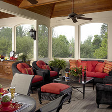Traditional Porch by FAVA DESIGN GROUP