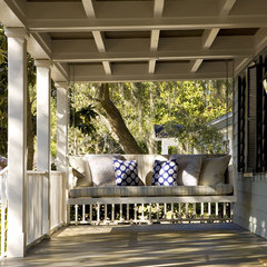 traditional porch by Frederick + Frederick Architects