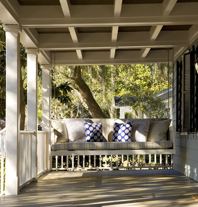 Traditional Porch By Frederick Architects