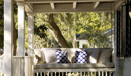 Expert Talk: Porch Swings Sway Into Sweet Life