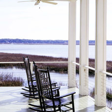 Beach Style Porch by Frederick + Frederick Architects
