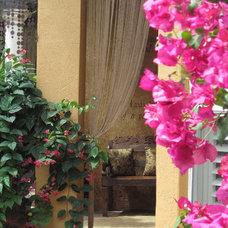 Mediterranean Porch Porch