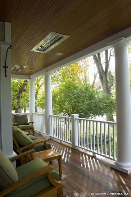 Traditional Porch by Elevations