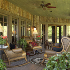Traditional Porch by Marie Meko, Allied ASID