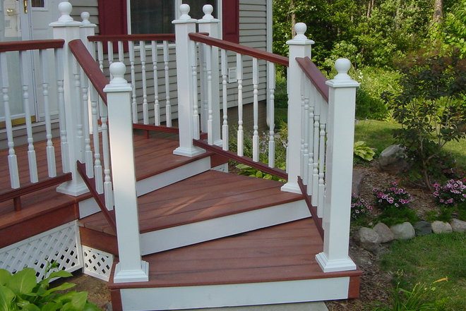 Traditional Porch by Residential Resurrections