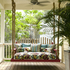 Tropical Porch Porch Swing