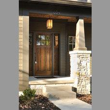 Traditional Porch by Tarl LaRocco Designs