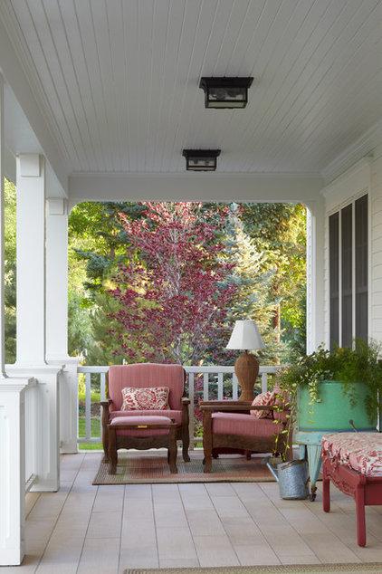 Farmhouse Porch by Todd Remington Architect