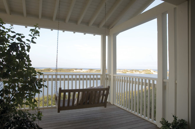 Traditional Porch by Tracery Interiors
