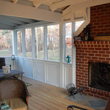 Traditional Porch by Deep Run Renovations