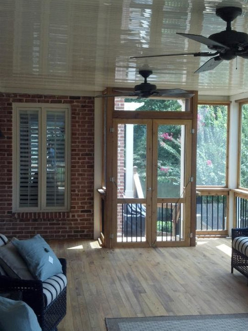 Cypress flooring home design ideas pictures remodel and for Cypress porch columns