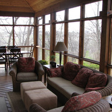 Traditional Porch by Outdoor Environments Inc
