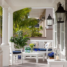 Beach Style Porch by Flagg Coastal Homes