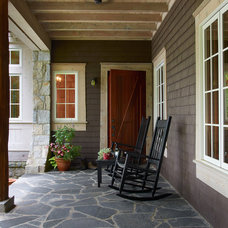 Farmhouse Porch by Futral Construction
