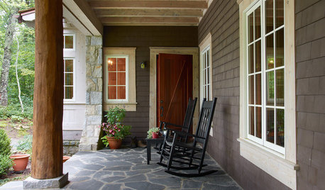 How to Bring Modern Farmhouse Style to Your Porch