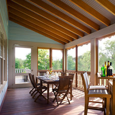 Traditional Porch by Michael McKinley and Associates, LLC