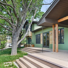 Contemporary Porch by Jacobson, Silverstein, Winslow / Degenhardt