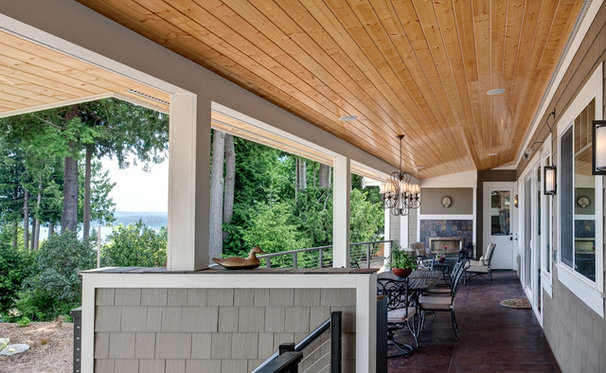 Traditional Porch by Don Larkin, Architect, AIA, PLLC