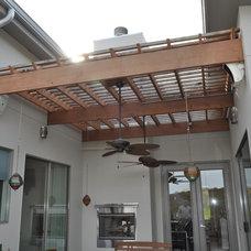 Modern Porch by John Allen