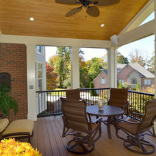 Traditional Porch by Weidmann Remodeling