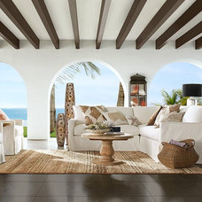 Contemporary Porch by Pottery Barn