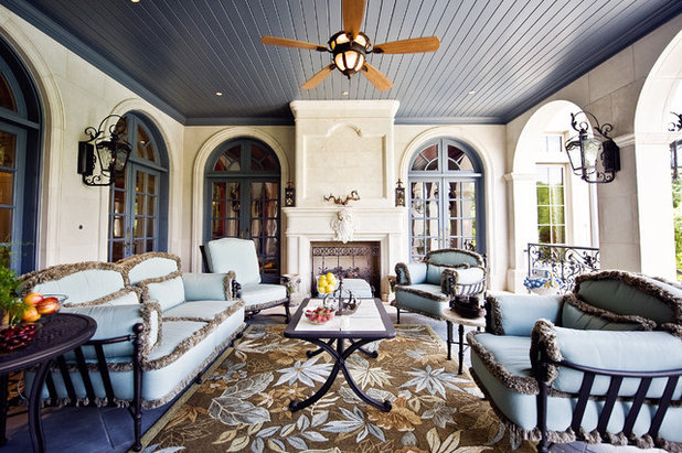 Traditional Porch by Fusch Architects, Inc.
