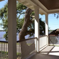 Traditional Porch by RJ Elder Design